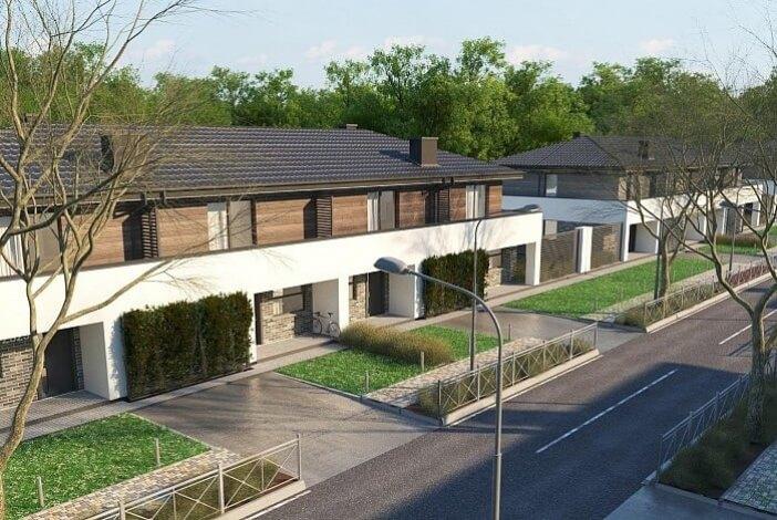 КР017 - Двухэтажный Каркасные дома без гаража
