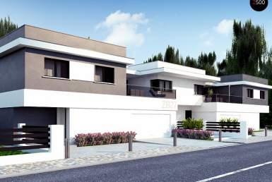 КР015 - Двухэтажный Каркасные дома с гаражом