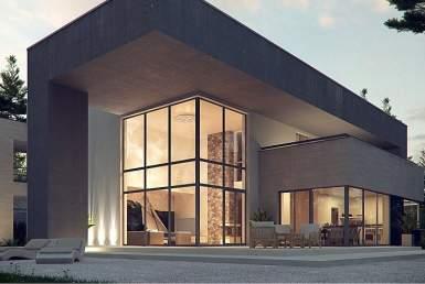 КР019 - Двухэтажный Каркасные дома с гаражом